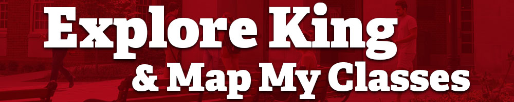 Explore King & Map My Classes