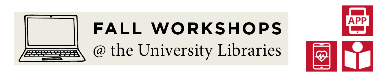 Online Library Workshops Fall 2020