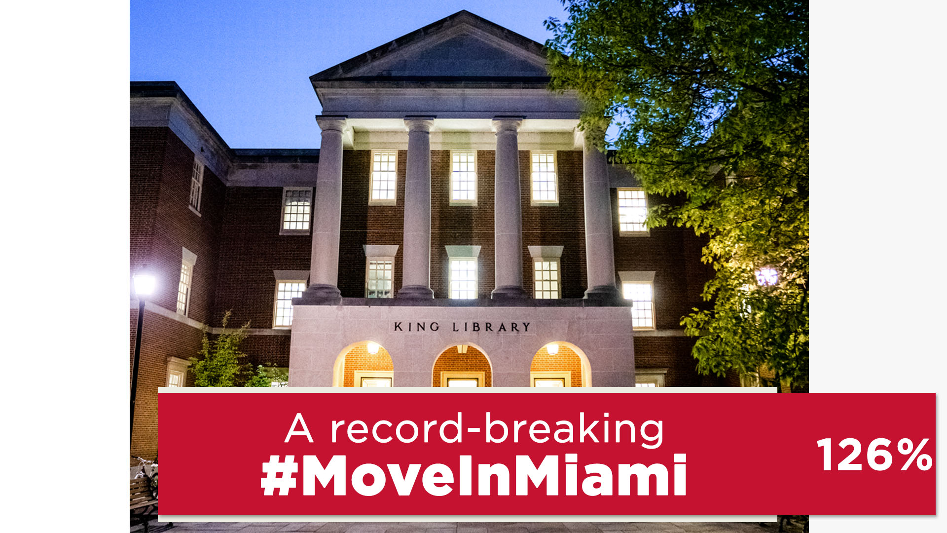 Libraries supporters break all-time #MoveInMiami records