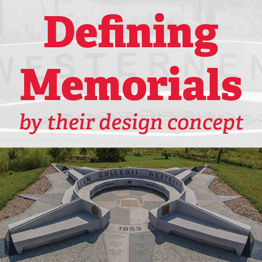 Defining Memorials by their Campus Design Concept