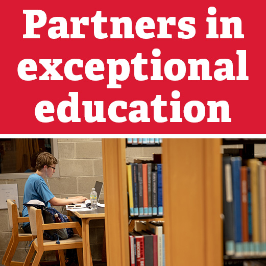 Partner in exceptional education