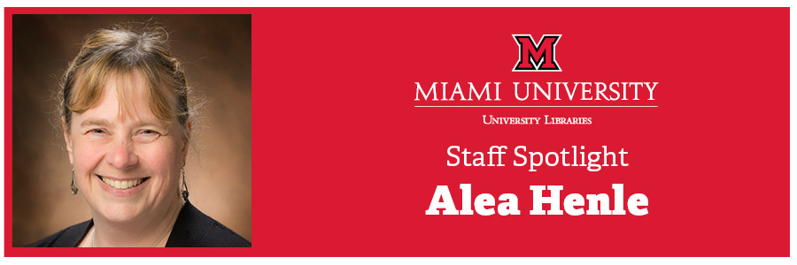 Staff Spotlight: Alea Henle