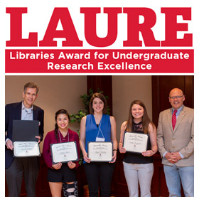 Undergraduate research award opens for submissions Feb. 15