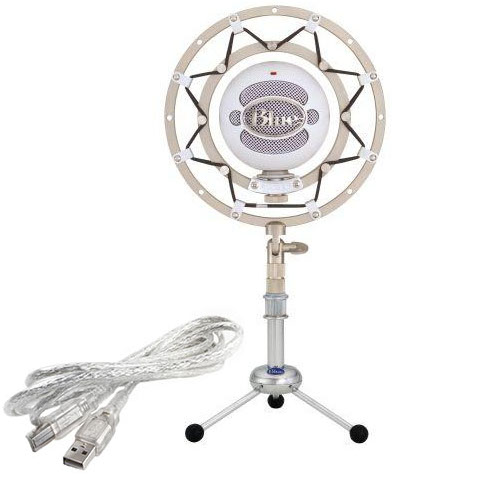 Blue brand Snowball microphone with ringer