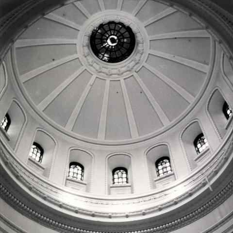 Photo of Alumni Library dome