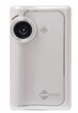 Flip brand video camera
